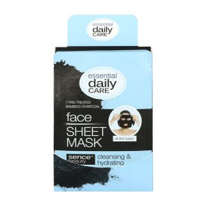 Sencebeauty Tencel Sheet Mask | Charcoal Bamboo